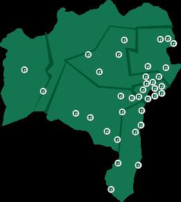 Encontre os postos de atendimentos da Defensoria pública da Bahia