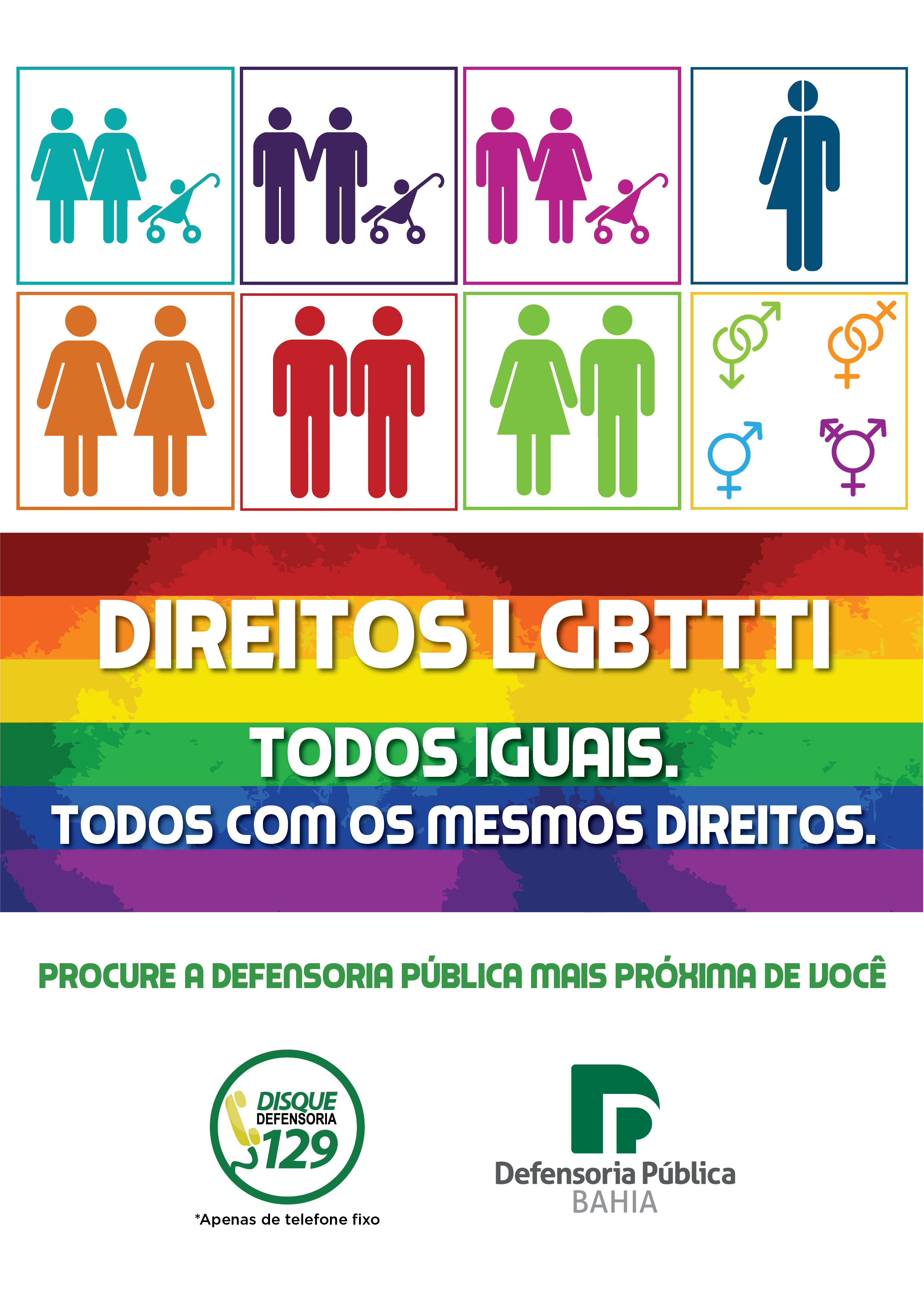 Folder – Direitos LGBTTTI