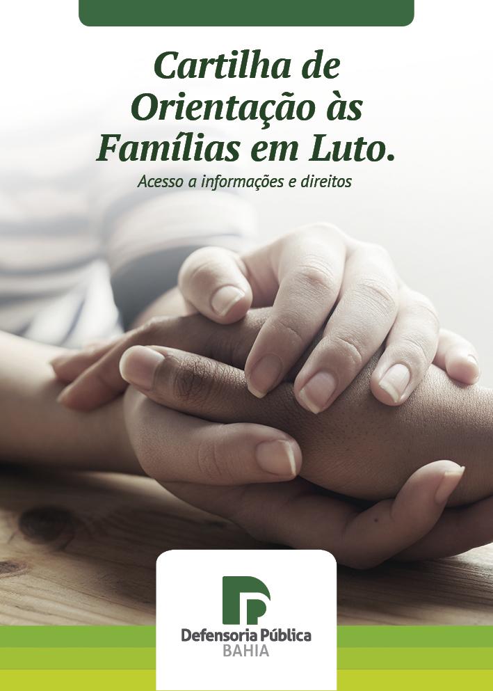 Cartilha – Orientação às Famílias em Luto