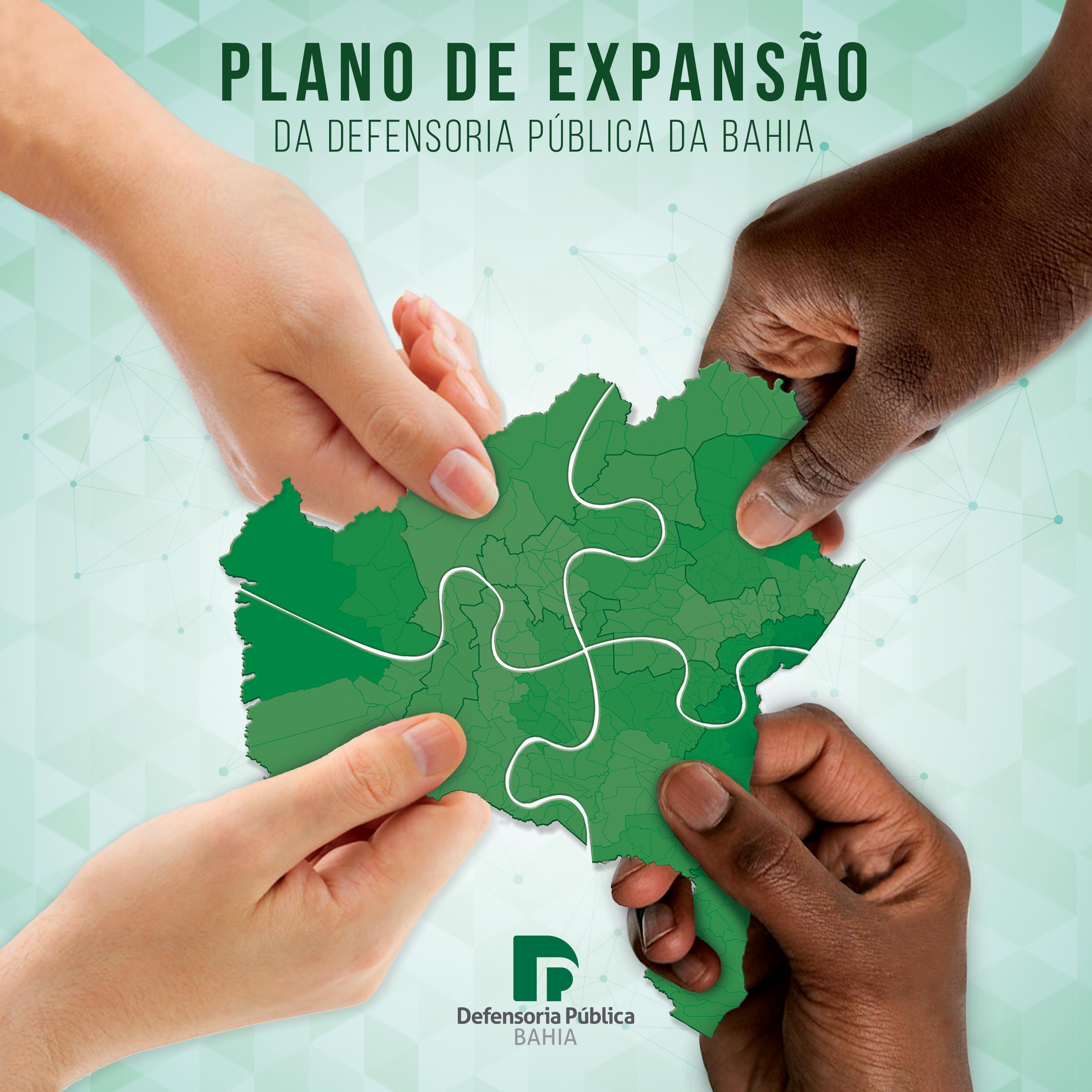 Plano de Expansão da Defensoria Pública da Bahia