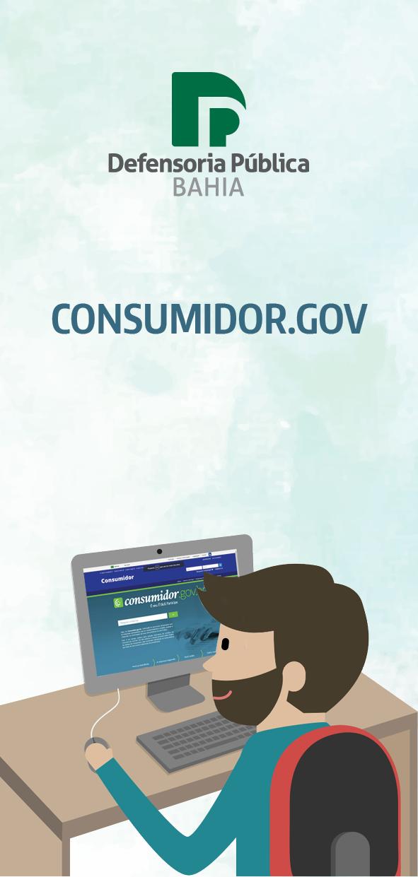 Folder – Consumidor.Gov