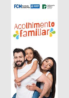 Folder – Acolhimento Familiar