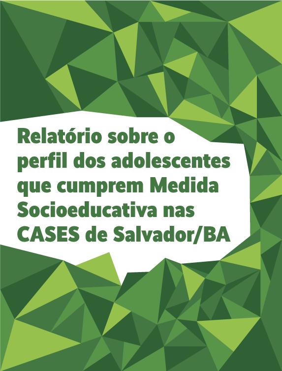 Relatório sobre o perfil dos adolescentes que cumprem Medida Socioeducativa nas CASES de Salvador/BA