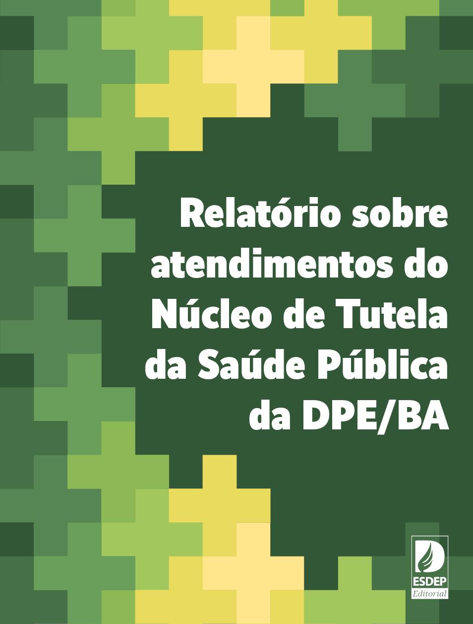 Relatório sobre atendimentos do Núcleo de Tutela da Saúde Pública da DPE/BA
