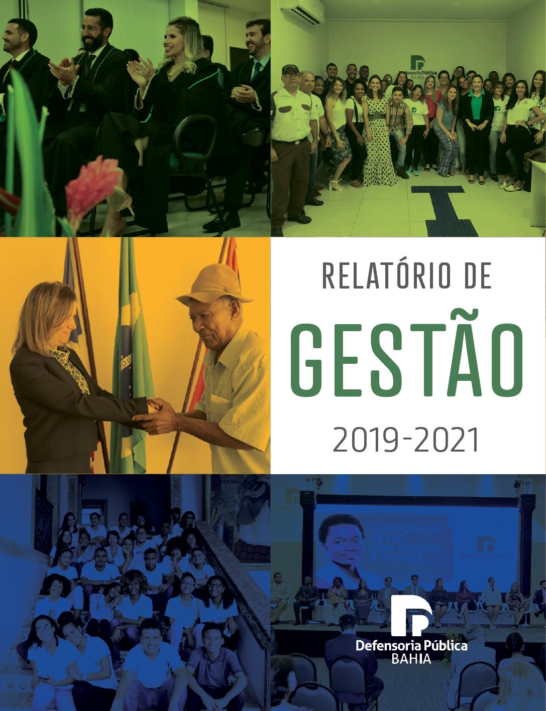 RELATÓRIO DE GESTÃO 2019-2021