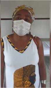 Marizélia Lopes, liderança quilombola da comunidade Bananeiras